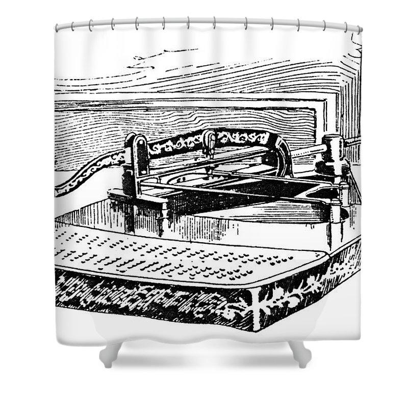 Tabulator Shower Curtains