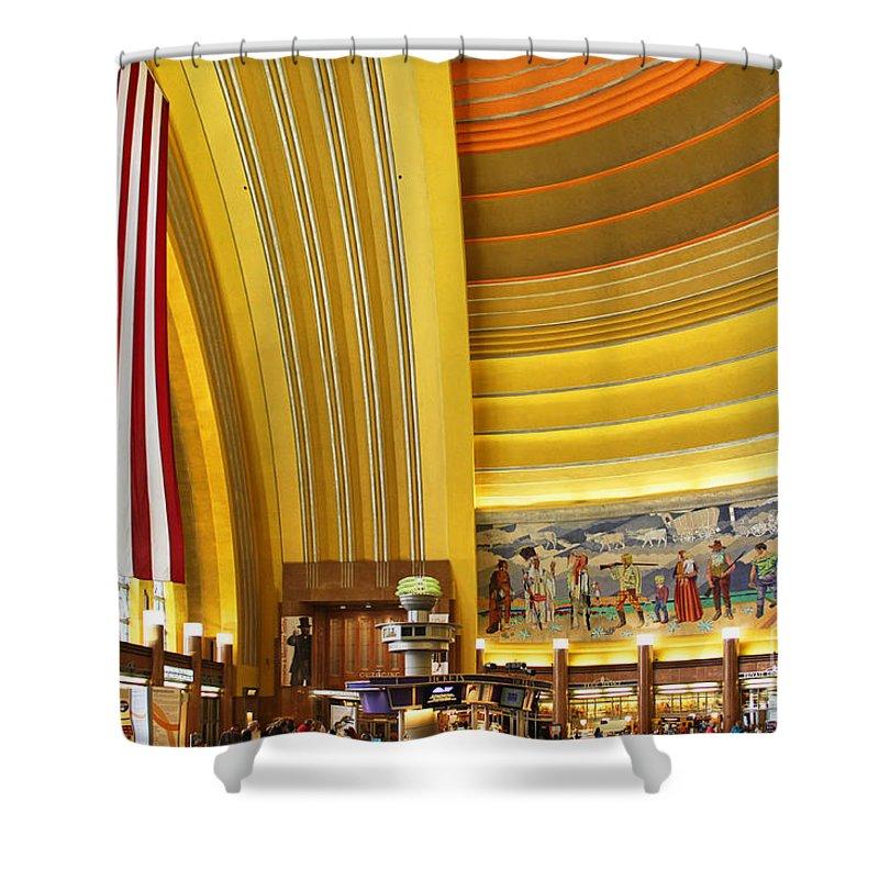 Cincinnati Museum Center Shower Curtain featuring the photograph Cincinnati Museum Center At Union Terminal 0018 by Jack Schultz