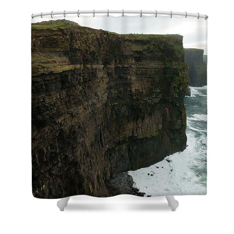 Cliffs Of Moher Shower Curtain featuring the photograph Cliffs Of Moher 1 by Benjamin Reed