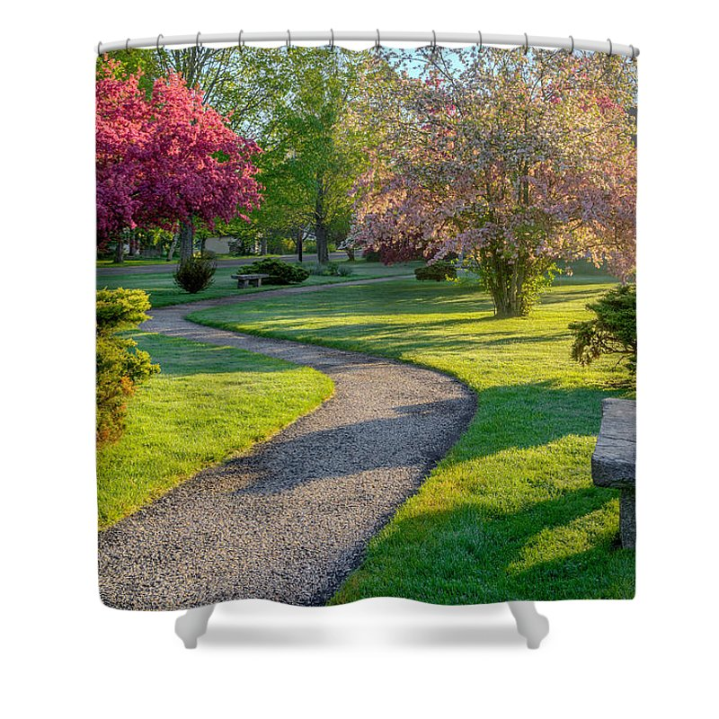 Spring Shower Curtain featuring the photograph Color Of Spring by Bill Wakeley