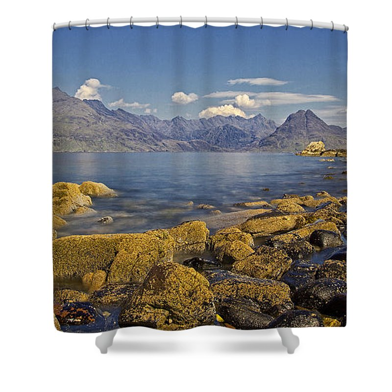 Elgol Shower Curtain featuring the photograph Elgol by David Pringle