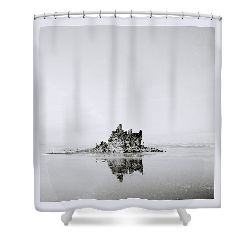 Mono Lake Shower Curtain featuring the photograph Moments Of Stillness by Shaun Higson