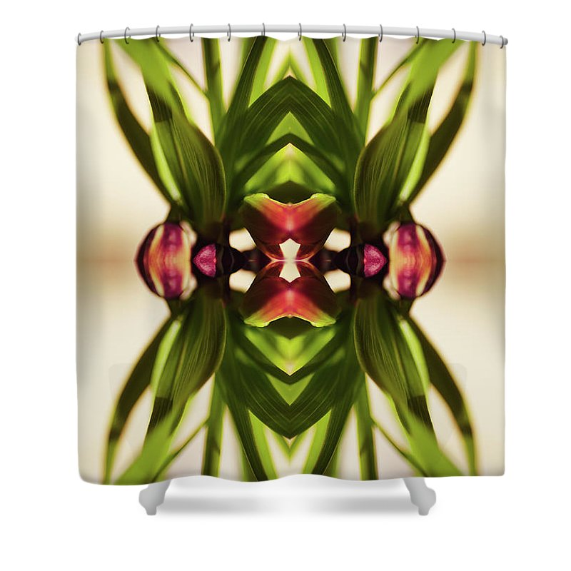 Fritillaria Shower Curtain featuring the photograph Fritillaria Flower Plant by Silvia Otte