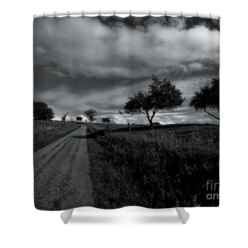 Chapel Shower Curtain featuring the photograph Going To The Chapel by Brothers Beerens