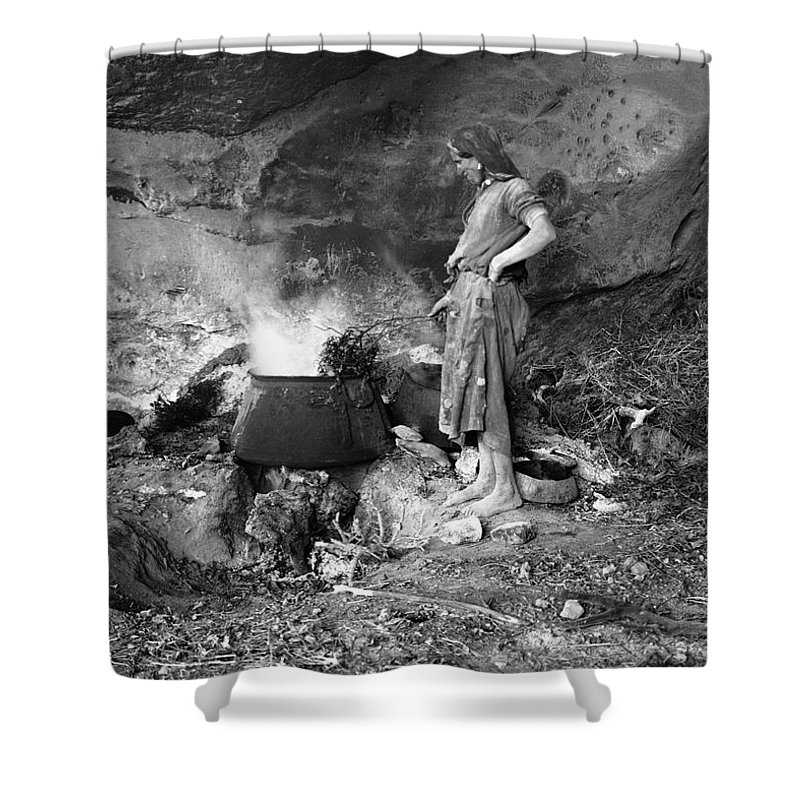 20th Century Shower Curtain featuring the photograph Gunpowder Manufacture by Granger