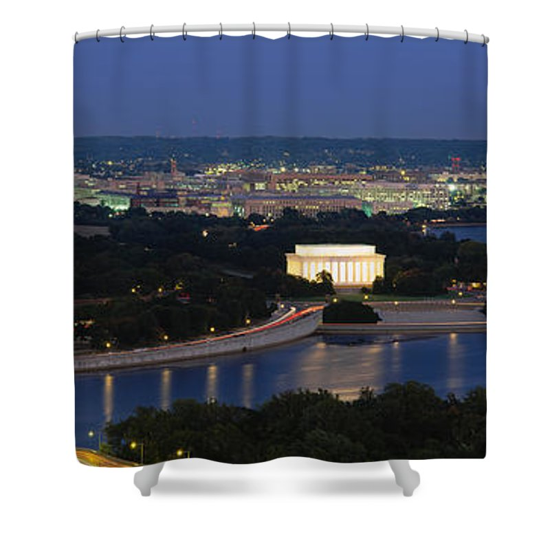 Capitol Building Shower Curtains