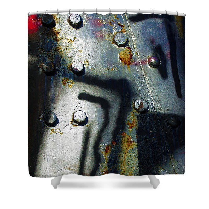 Oxidized Shower Curtains