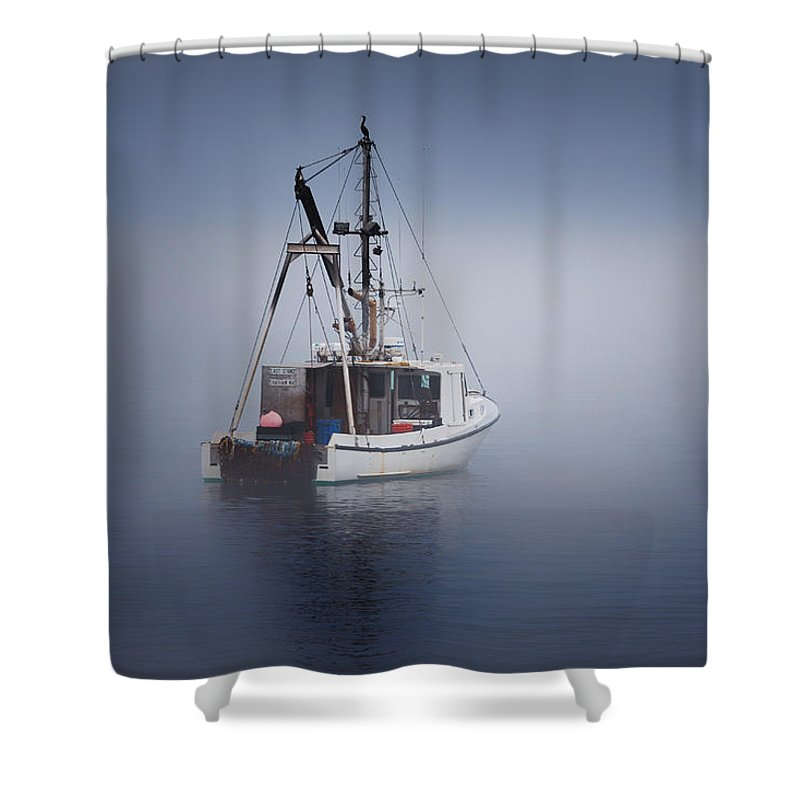 Cape Cod Shower Curtain featuring the photograph Lost by Bill Wakeley