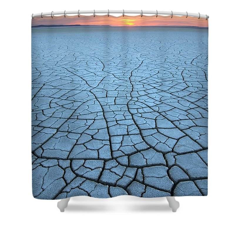 Tranquility Shower Curtain featuring the photograph Malheur National Wildlife Refuge, Oregon by Alan Majchrowicz