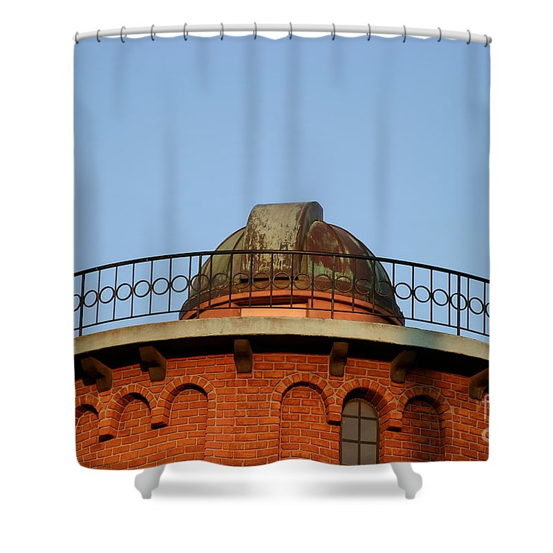 Architecture Shower Curtain featuring the photograph Old Observatory by Henrik Lehnerer