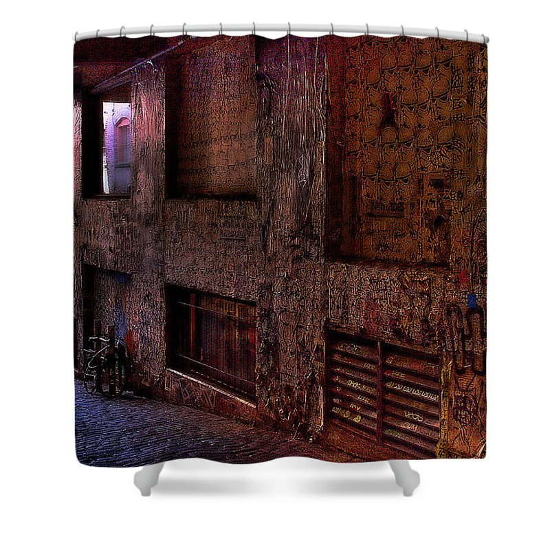 Post Alley Shower Curtain featuring the photograph Post Alley - Seattle by David Patterson