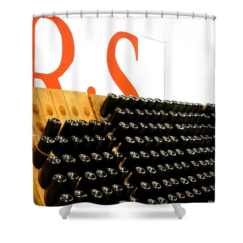 Mcminville Shower Curtain featuring the photograph R Stuart Wine 21126 by Jerry Sodorff