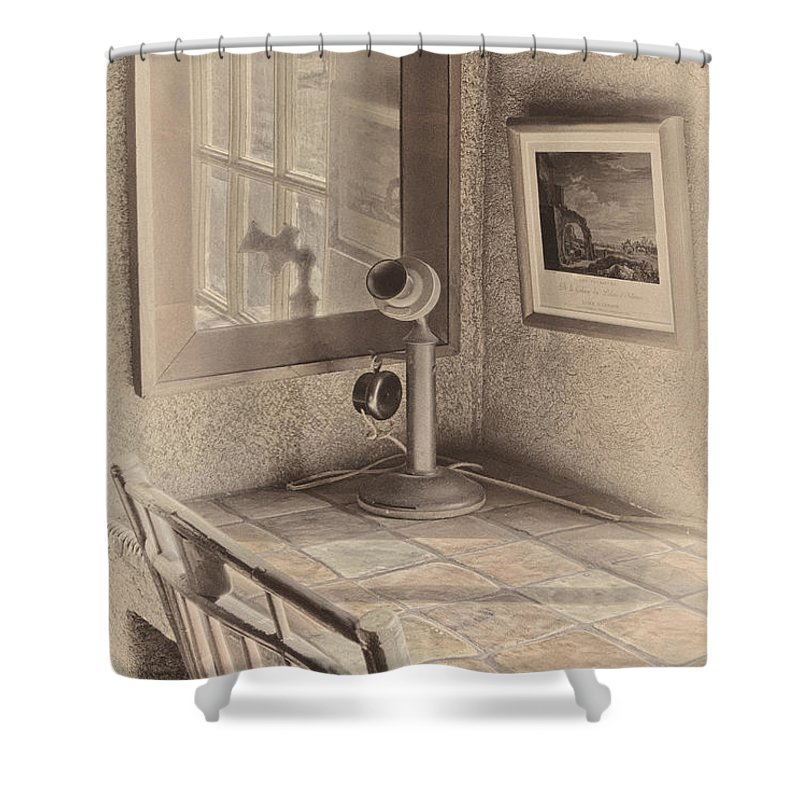 Reflections Shower Curtain featuring the photograph Reflections by Susan Candelario