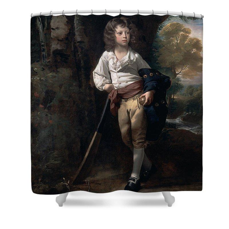 John Singleton Copley Shower Curtain featuring the painting Richard Heber by John Singleton Copley
