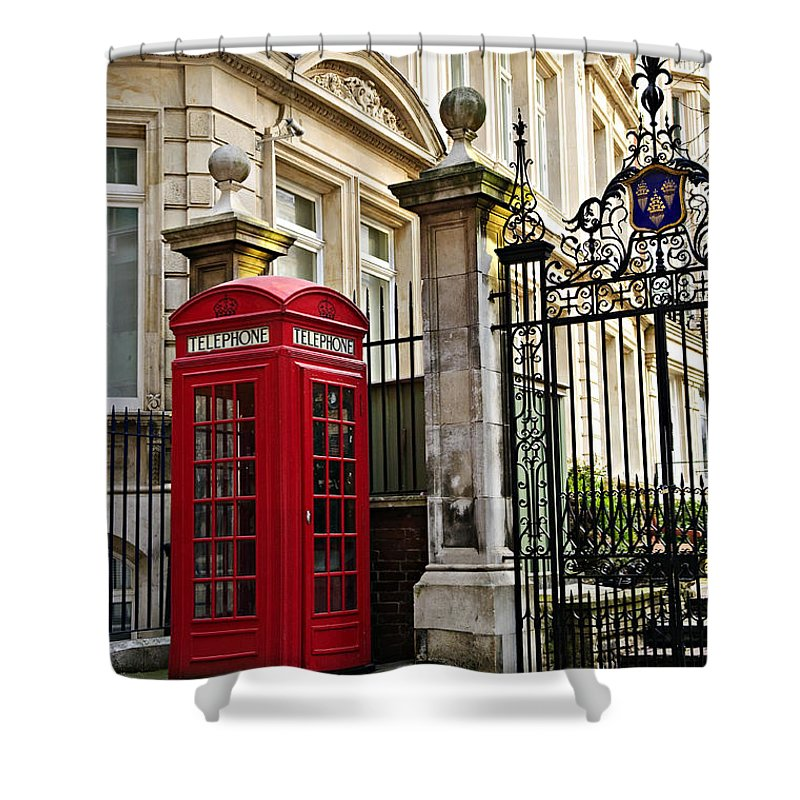 England English Shower Curtains