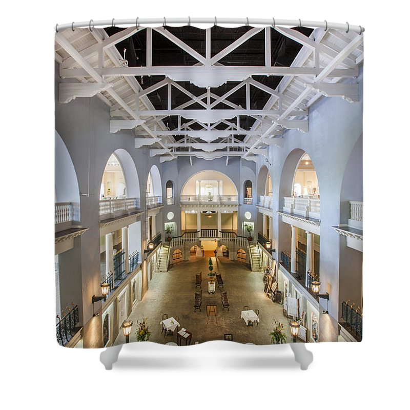 Lightner Museum Shower Curtain featuring the photograph The Lightner Museum by Rich Franco