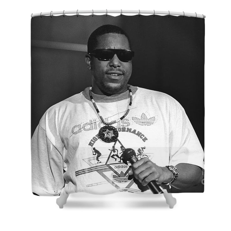 Grammy Nominated Rapper And Actor Anthony Terrell Smith Shower Curtain Featuring The Photograph Tone Loc