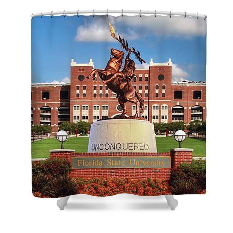 Unconquered Shower Curtain For Sale By John Douglas