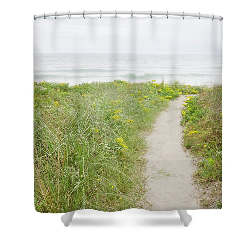 Tranquility Shower Curtain featuring the photograph Usa, Massachusetts, Nantucket Island by Chuck Plante