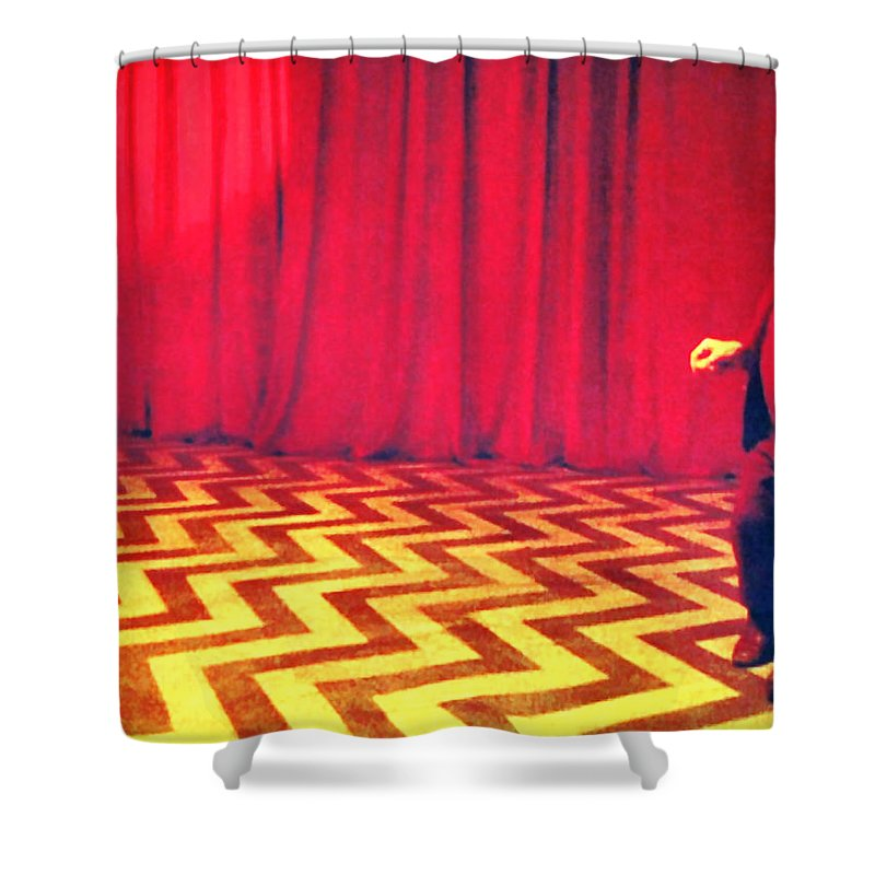 Laura Palmer Shower Curtain featuring the painting Where Were From The Birds Sing A Pretty Song by Luis Ludzska