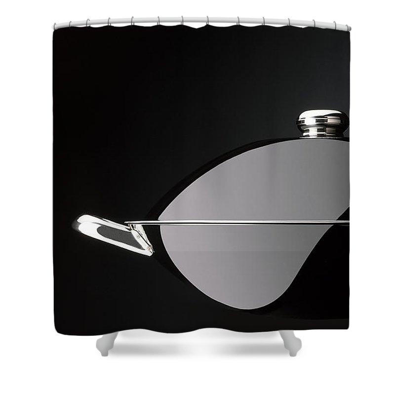 Cooking Shower Curtain featuring the photograph Wok Zen by Alain De Maximy
