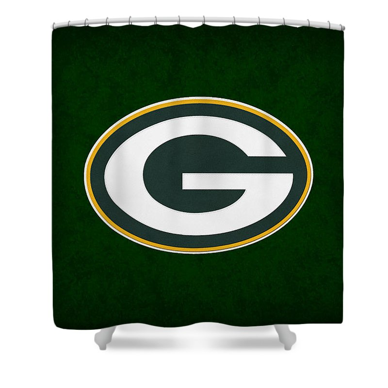 Packers Shower Curtain Featuring The Photograph Green Bay By Joe Hamilton