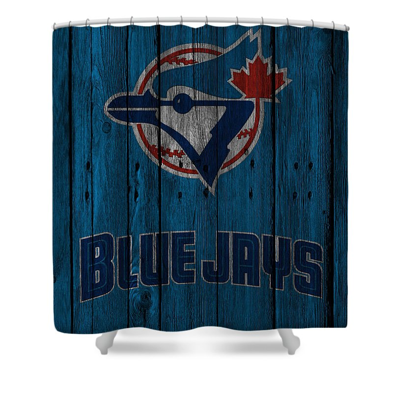Blue Jay Shower Curtains