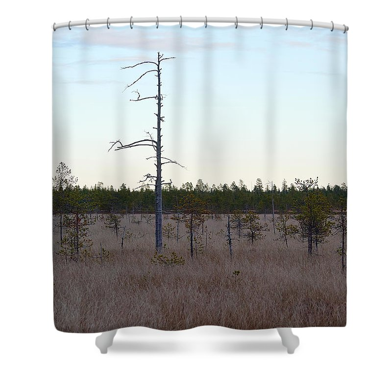 Lehto Shower Curtain featuring the photograph Martimoaapa by Jouko Lehto