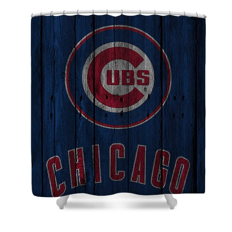 Chicago Cubs Shower Curtain For Sale By Joe Hamilton