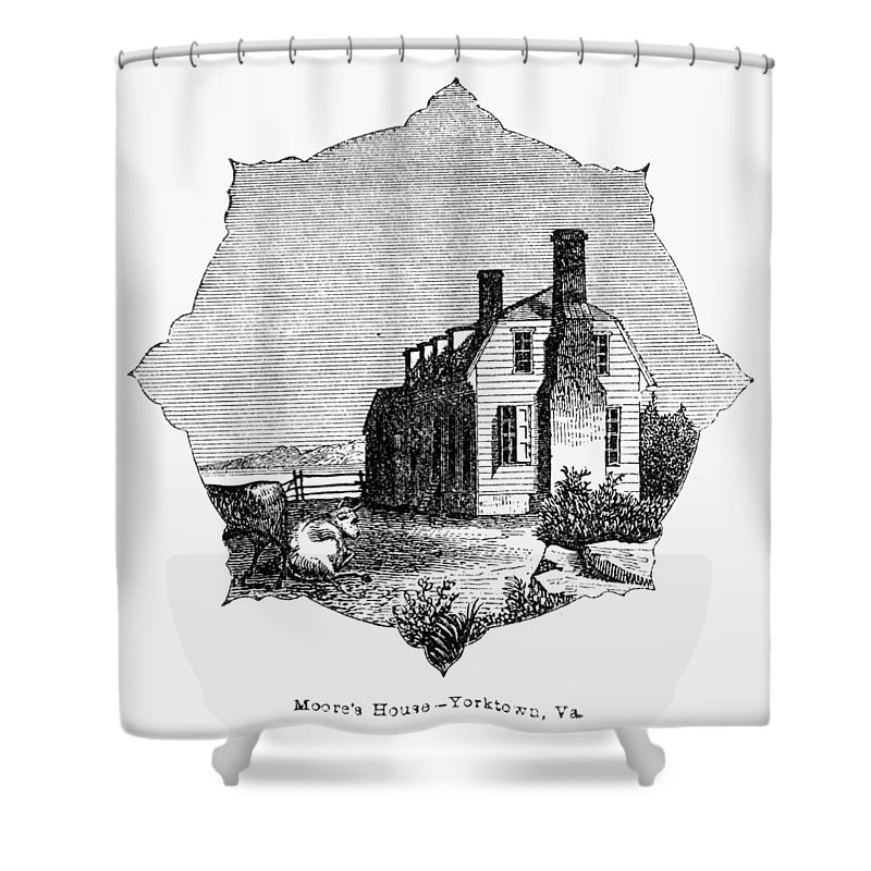 1781 Shower Curtain featuring the photograph Yorktown: Surrender, 1781 by Granger