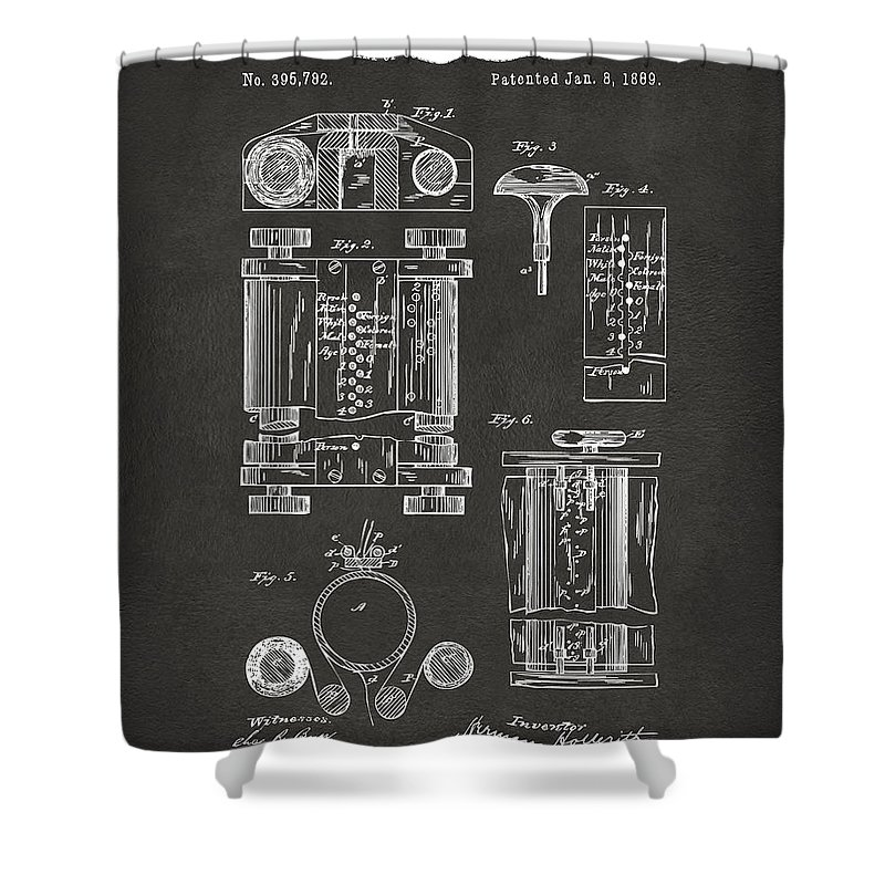Hollerith Shower Curtains