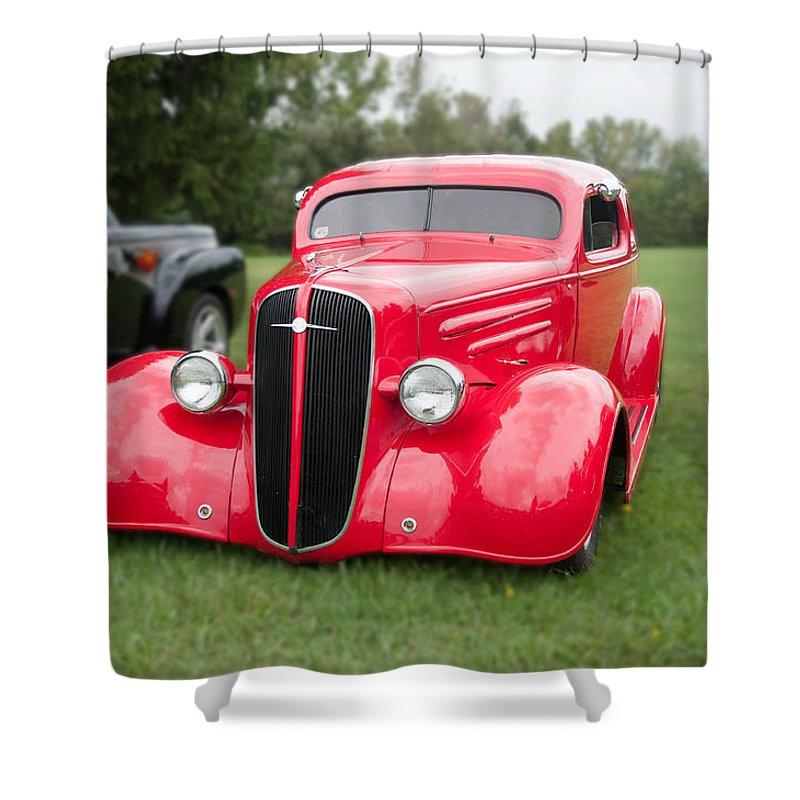 1936 Chevy 8551 Shower Curtain