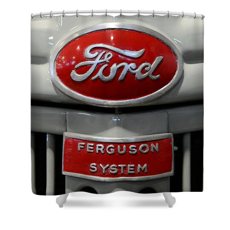 Paul Ward Shower Curtain featuring the photograph 1941 Ford Tractor Ferguson System by Paul Ward