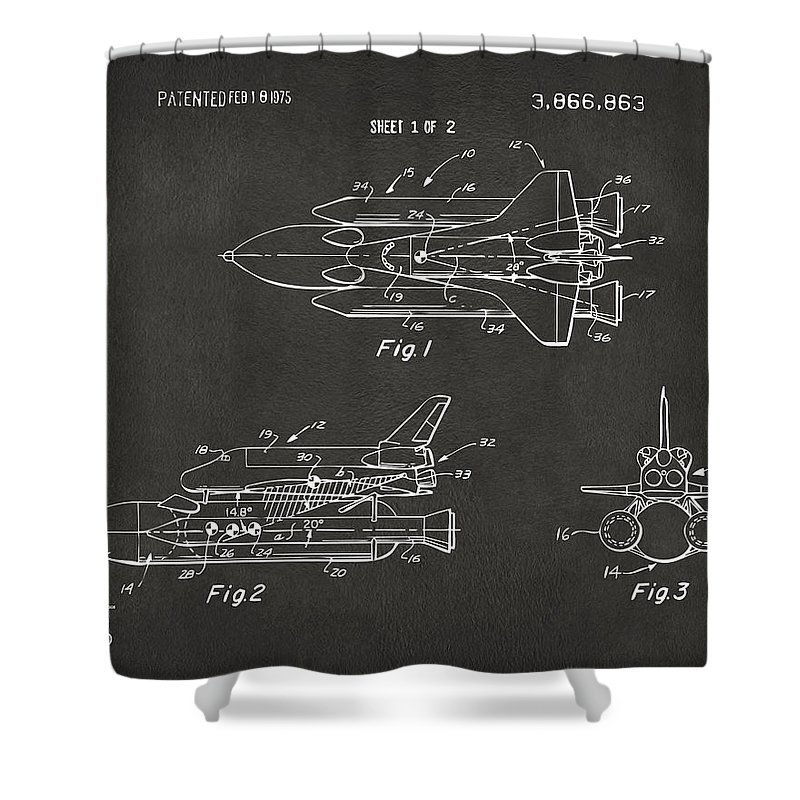 Space Ships Shower Curtains