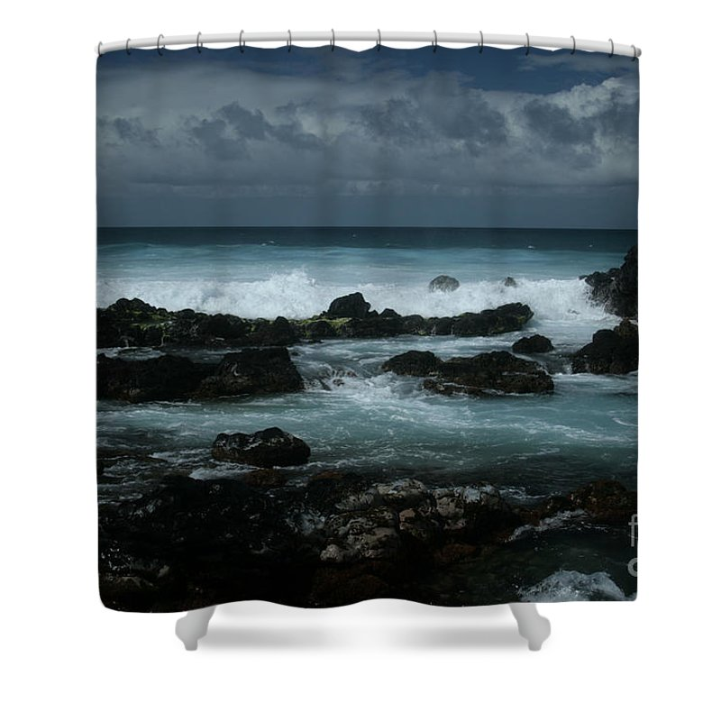 Aloha Shower Curtain featuring the photograph A Delicate Way by Sharon Mau