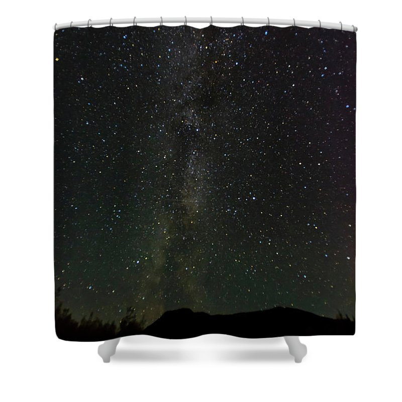 Photography Shower Curtain featuring the photograph Aurora Borealis, Kantishna, Alaska by Panoramic Images