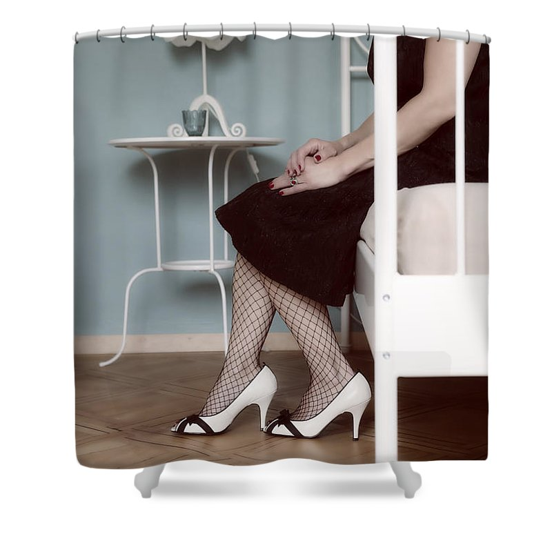 Woman Shower Curtain featuring the photograph Bedroom by Joana Kruse