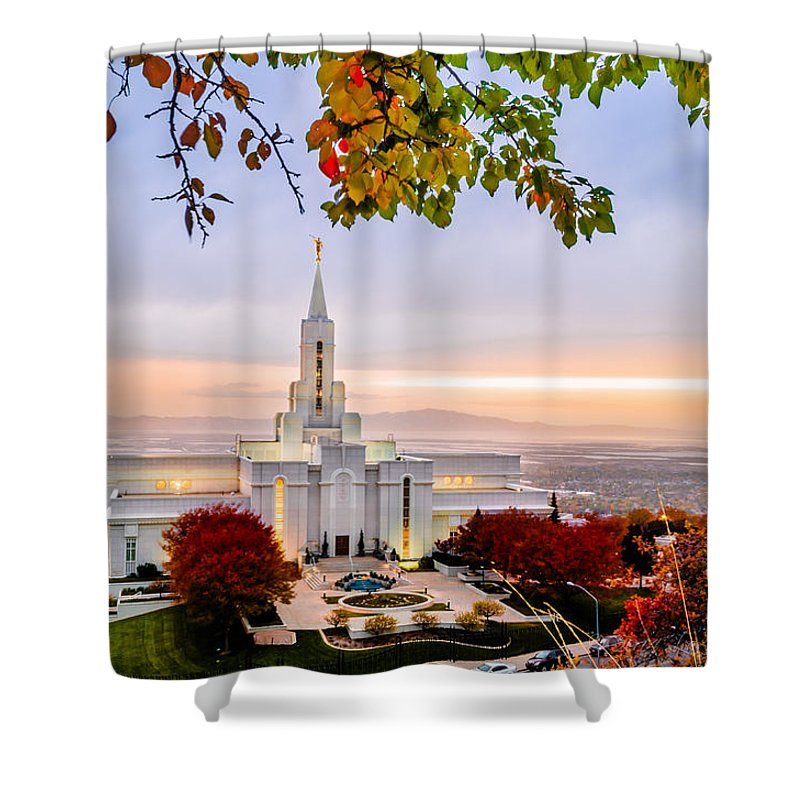 Bountiful Temple Shower Curtains