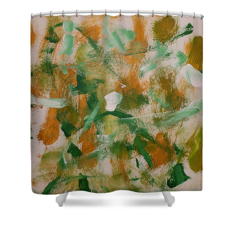 Freedom Shower Curtain featuring the painting Dance by Luz Elena Aponte