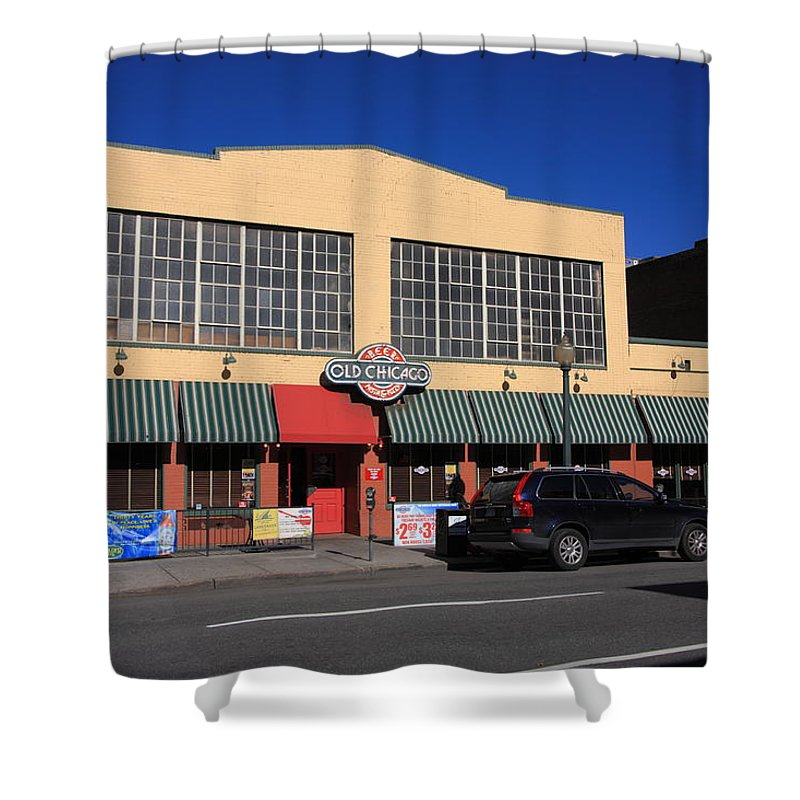 America Shower Curtain Featuring The Photograph Denver