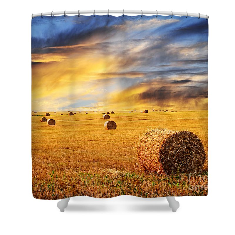 Sustainable Agriculture Shower Curtains
