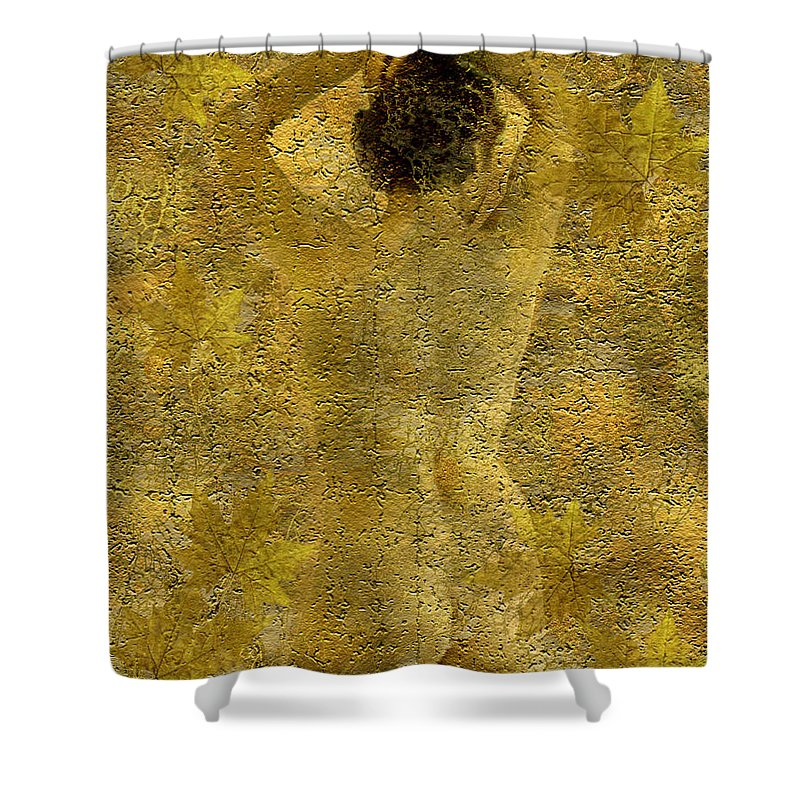Nudes Shower Curtain featuring the photograph Jenni by Kurt Van Wagner