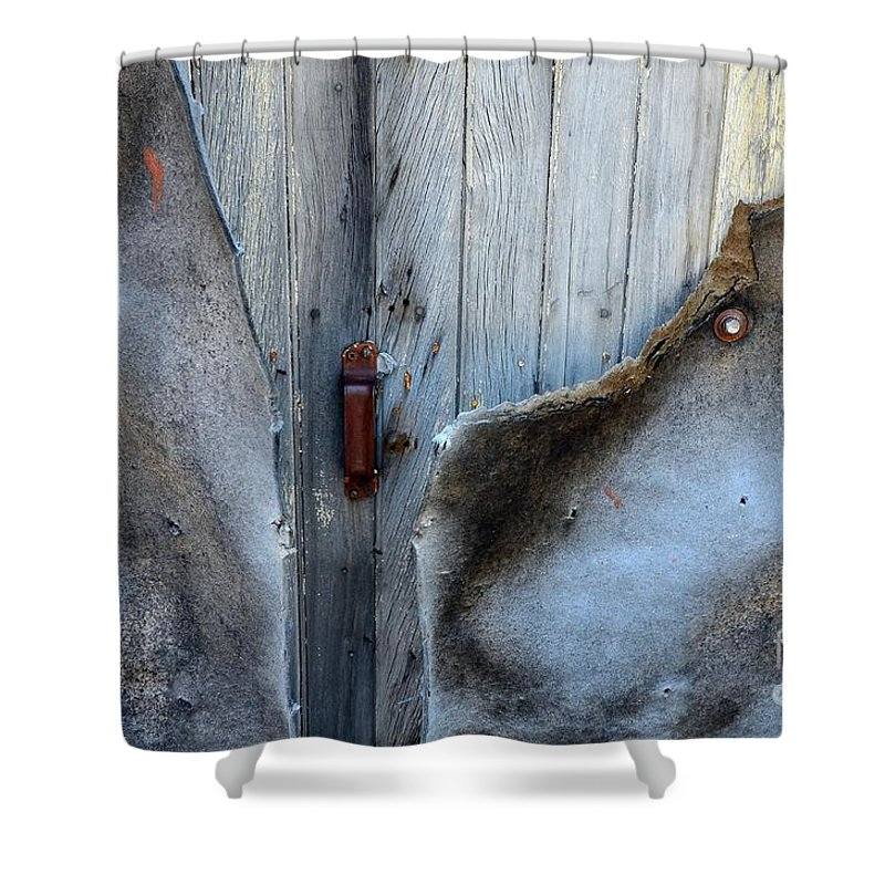 Abstract Shower Curtain featuring the photograph Mystery by Lauren Leigh Hunter Fine Art Photography