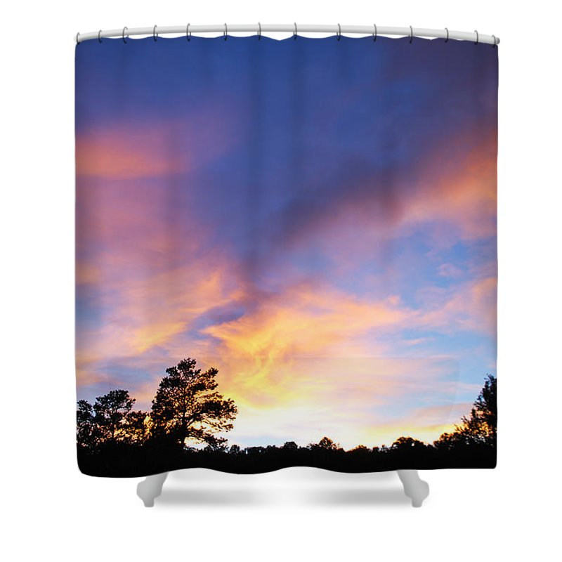 Becky Furgason Shower Curtain featuring the photograph #takeadeepbreath by Becky Furgason