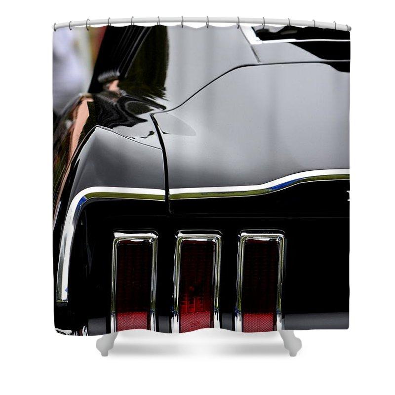 Mustang Shower Curtain featuring the photograph Terra Nova Hs Car Show by Dean Ferreira