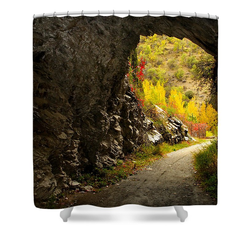 Cave Shower Curtain featuring the photograph The Cave by Guido Montanes Castillo