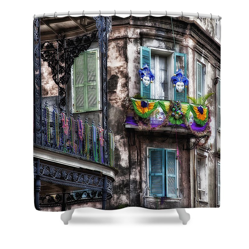 French Quarter Shower Curtains