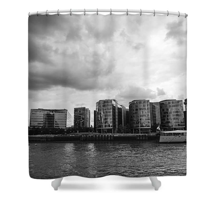 Shard Shower Curtain featuring the photograph The Shard by Chevy Fleet