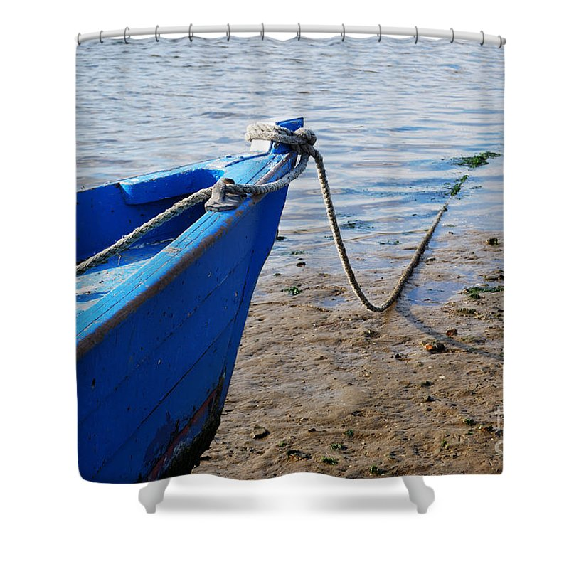 Tides Out Iii Shower Curtain featuring the photograph Tide's Out 3 by Wendy Wilton