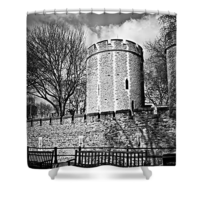Guard Tower Shower Curtains